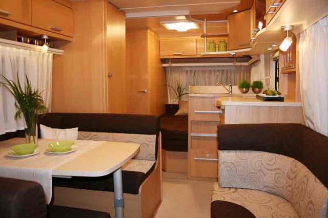 Caravanas 2011 - Interior caravana ...