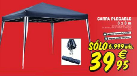 gazebo plegable bricodepot materiales de construcci n